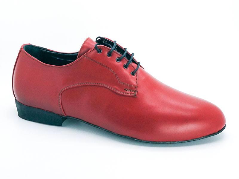 Ανδρικό παπούτσι τάνγκο από κόκκινο δέρμα