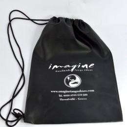 Imagine Shoes Leatherette Pouch bag