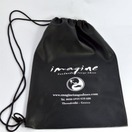 Imagine Shoes Leatherette Pouch bag